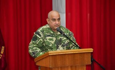 Mario Abdo nombra a nuevo comandante interino de Defensa Interna de la FTC