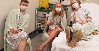 Hermanos captaron en una selfie el momento en que fueron alcanzados por un rayo: terminaron en el hospital