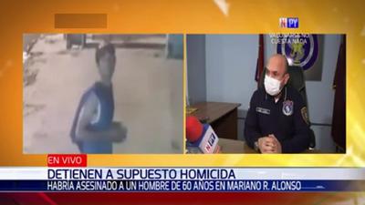Detienen a principal sospechoso tras asesinato de sexagenario
