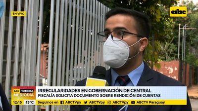 Fiscales se constituyeron ante la Contraloría por irregularidades en Gobernación de Central