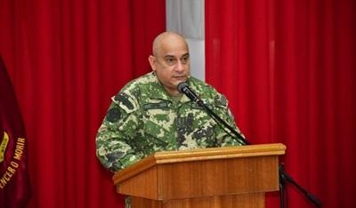 Abdo designa nuevo comandante de Defensa Interna