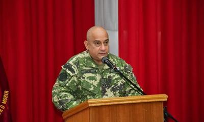Narciso López asume como comandante interino del CODI, tras el secuestro y asesinato de Jorge Ríos