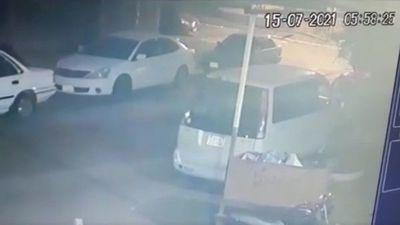 Fue a vacunarse contra el Covid-19 y le hurtaron su vehículo