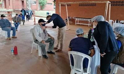 Habilitan nuevos vacunatorios anticovid en Departamento Caaguazú
