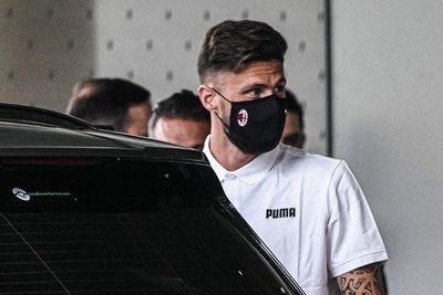 Giroud está en Italia para fichar por el Milan