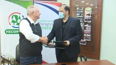 FECOPROD y FundaJoven firman convenio de cooperación en materia de prevención