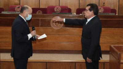 Santacruz es nuevo integrante del Consejo de la Magistratura