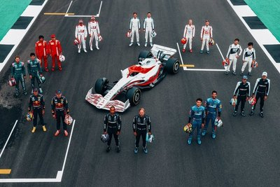 El nuevo monoplaza de la F1 ve la luz por primera vez en tamaño real