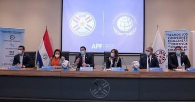 La Nación / La APF y el Pacto Global se comprometen a cumplir con los objetivos de desarrollo sostenible