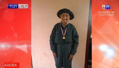Excombatiente del Chaco cumple 106 años