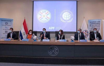 Convenio entre la Secretaría de Deportes, APF y Pacto Global