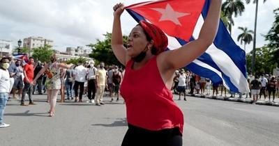 La Nación / Populares artistas expresaron su apoyo a los manifestantes en Cuba