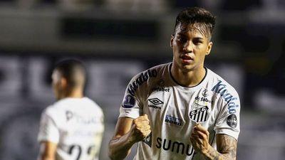 Santos saca ventaja en la ida ante Independiente