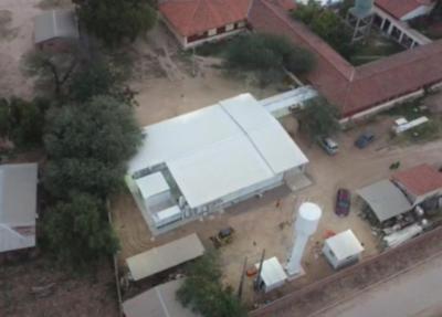 Concluye construcción del primer Pabellón de Contingencia del Chaco paraguayo