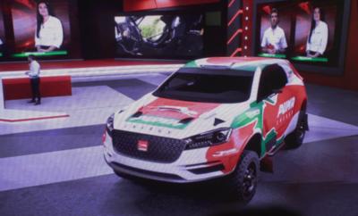 Andrea Lafarja se apunta al Dakar 2022 con una imponente máquina