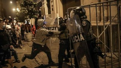 Seguidores de Keiko Fujimori atacaron sede del Gobierno