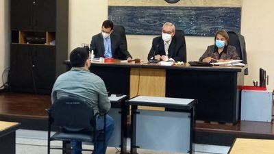 Stiben Patrón dice que no inició fuego en el Congreso