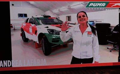Andrea estará en el Dakar 2022
