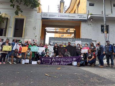 Ollas Populares denuncian que la SEN suspenderá entrega de insumos