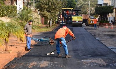 Municipalidad de Ciudad del Este avanza con bacheo de calles y avenidas en distintos barrios – Diario TNPRESS