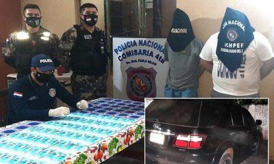 Dos brasileños caen detenidos con 6.700 reales presumiblemente falsos – Diario TNPRESS
