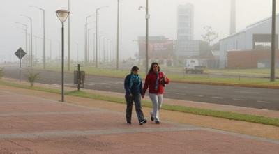 Meteorología pronostica un ambiente frio y con vientos del sur
