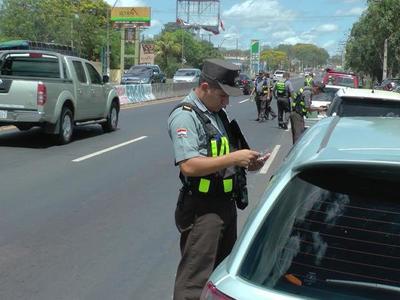 Caminera aplicará multas desde hoy por habilitaciones vencidas – Prensa 5
