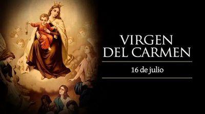 Hoy es fiesta de la Virgen del Carmen, la más bella flor del jardín de Dios
