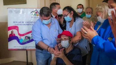 Gobierno confía en llegar a los 500 mil vacunados para el lunes