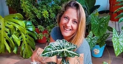 """Gise Cassettai y su transición a la """"señora de las plantas"""""""