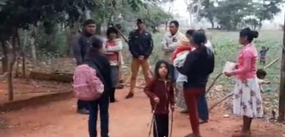 TRASLADAN A 85 FAMILIAS INDÍGENAS AL EX MATADERO MUNICIPAL