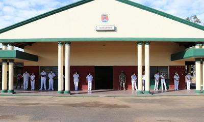 Pabellón de contingencia en cuartel militar se encuentra sin pacientes con Covid-19