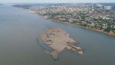 Preocupa altura hidrométrica de Asunción que registra peor comportamiento que el 2020