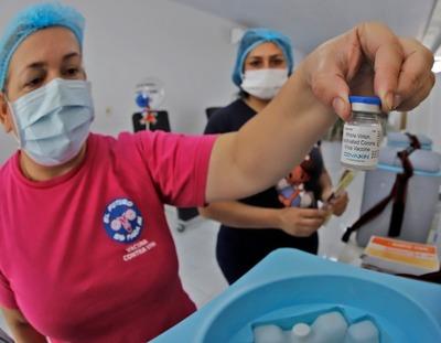 Anuncian la llegada de vacunas Covaxin para el mes de agosto