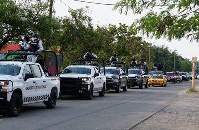 Liberan a efectivos de la Guardia Nacional retenidos por pobladores en México