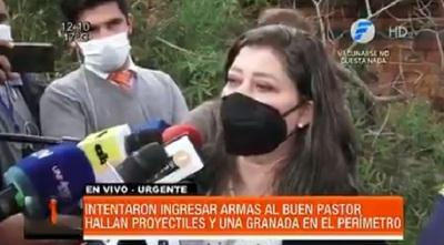Confirman que granada hallada en cercanías del Buen Pastor estaba activa