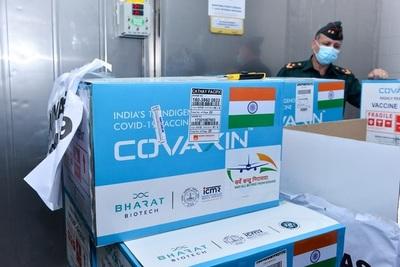Vacunas Covaxin llegarán en agosto