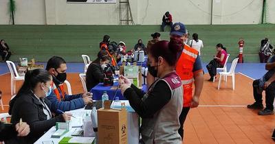 En Asunción se vacunaron más de 80 mil personas en cuatro días