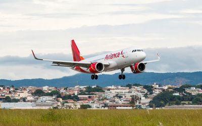 La aerolínea Avianca retoma la ruta Asunción-Bogotá desde setiembre