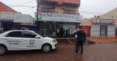 La Nación / Asesinan a tiros a un guardia de seguridad en zona de frontera
