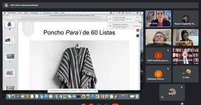 La Nación / Presentarán candidatura del poncho para'i como Patrimonio Cultural Inmaterial de la Unesco
