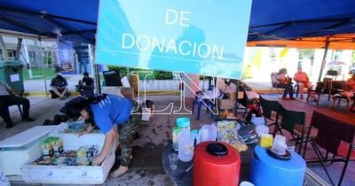 La Nación / IPS Central: familiares de internados piden ayuda con alimentos y productos de limpieza