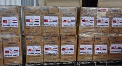 Salud recibió donación de concentradores de oxígeno
