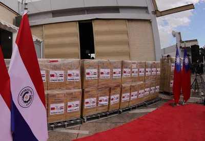 Paraguay recibe segundo lote de concentradores de oxígeno de Taiwán para pacientes covid-19