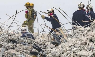Sube a 93 la cifra de víctimas del derrumbe en Miami identificadas