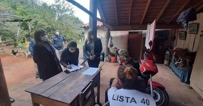 La Nación / Fiscales allanan vivienda en Caraguatay por denuncia de pornografía infantil