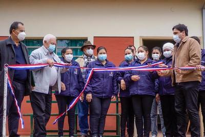 Inauguran mejoras realizadas en la Unidad de Salud familiar en San Joaquín