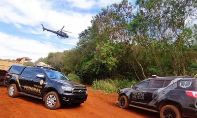 Destruyen 15 puertos clandestinos del lago Itaipú