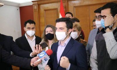 Diputado Sebastián García ya es candidato oficial a la intendencia de Asunción