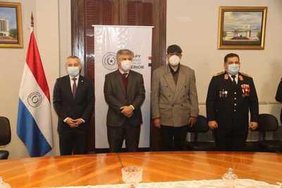 Daniel Centurión asumió como viceministro de Asuntos Políticos del Ministerio del Interior